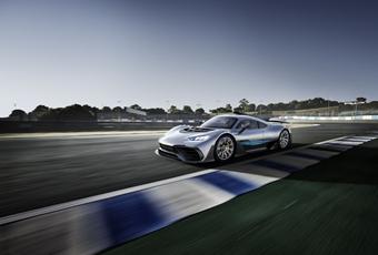 奔驰Project One亮相,以后F1赛车就可以合法上路了