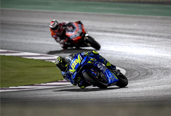 MotoGP揭幕战卡塔尔,铃木一喜一忧