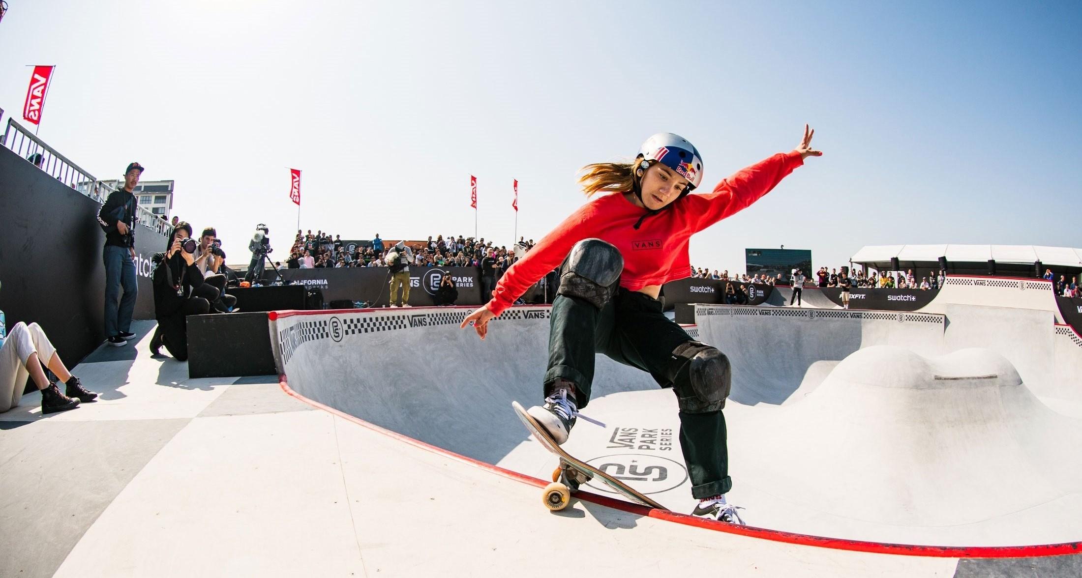 2018Vans职业公园滑板赛总决赛精彩落幕