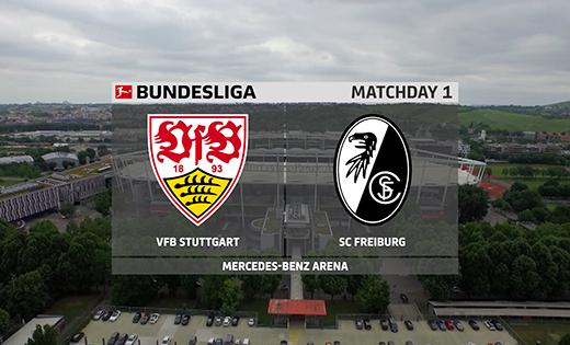 20/21第1轮集锦:斯图加特vs弗赖堡